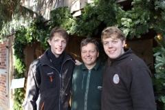 David, Martin und Lukas Schmalenstroer